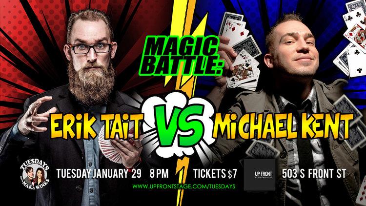 Columbus Magicians Battle at Shadowbox Live